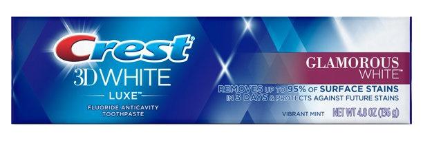 Crest Toothpaste 3D White Glamorous White