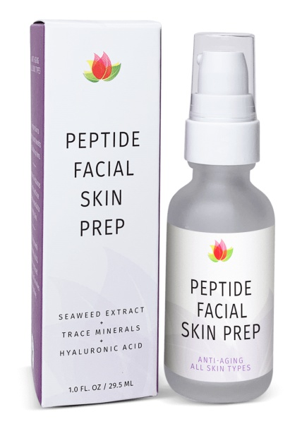 Reviva Labs Peptide Facial Skin Prep With Hyaluronic Acid