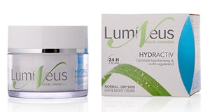 Lumineus Dag & Nacht Crème - Hydractiv - Normale Tot Droge Huid