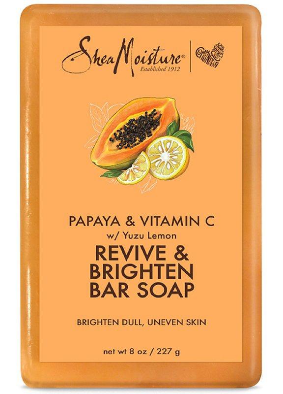 SheaMoisture Papaya & Vitamin C Revive & Brighten Bar Soap