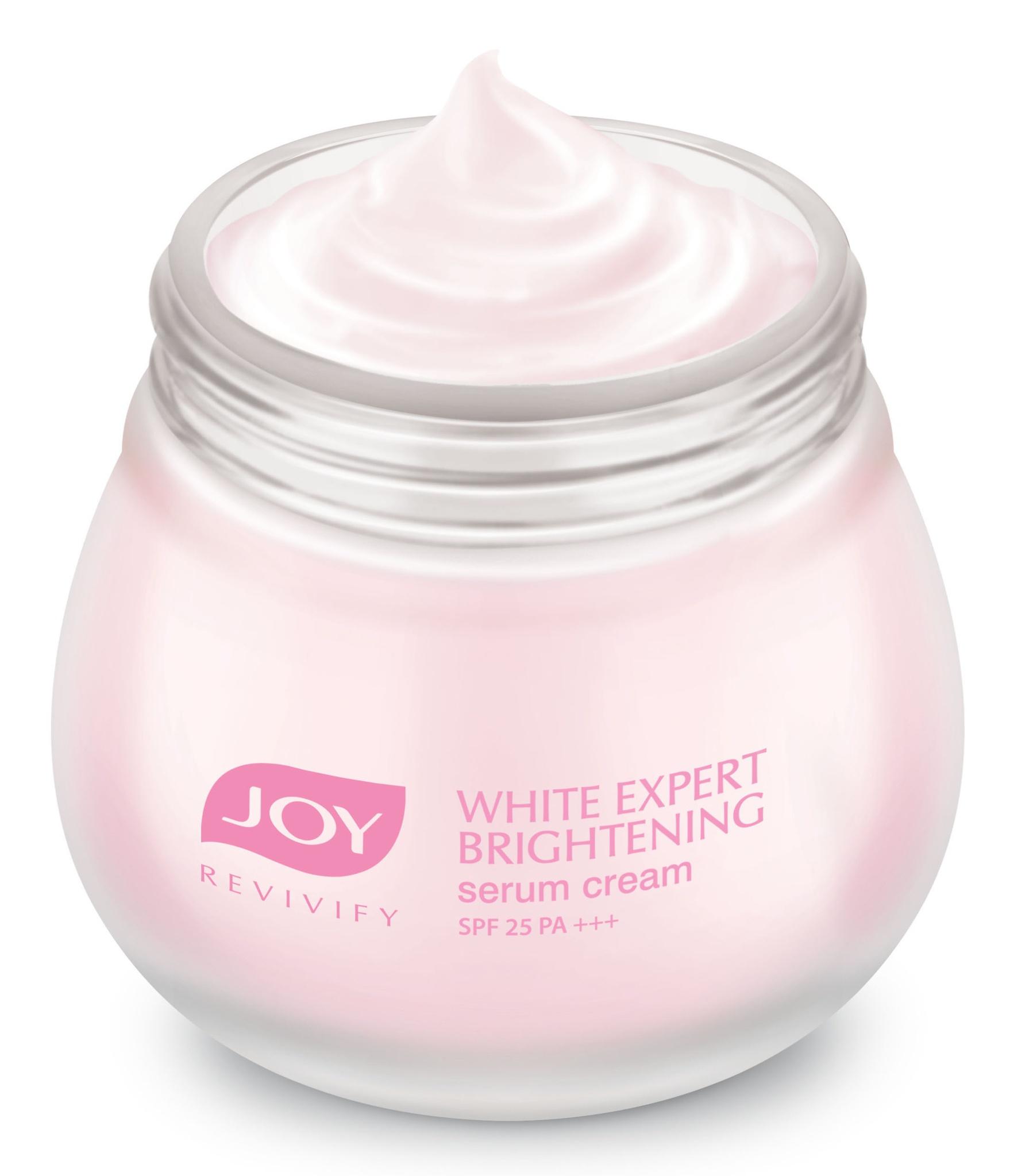 Joy Revivify White Expert Brightening Serum Cream