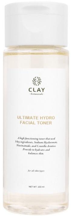 Clay Botanicals Ultimate Hydro Facial Toner