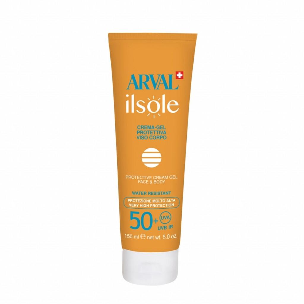 ARVAL ilsole Body & Face Cream-Gel SPF50+