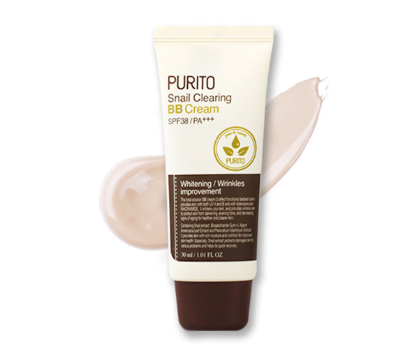 Purito Snail Clearing Bb Cream 21 Light Beige
