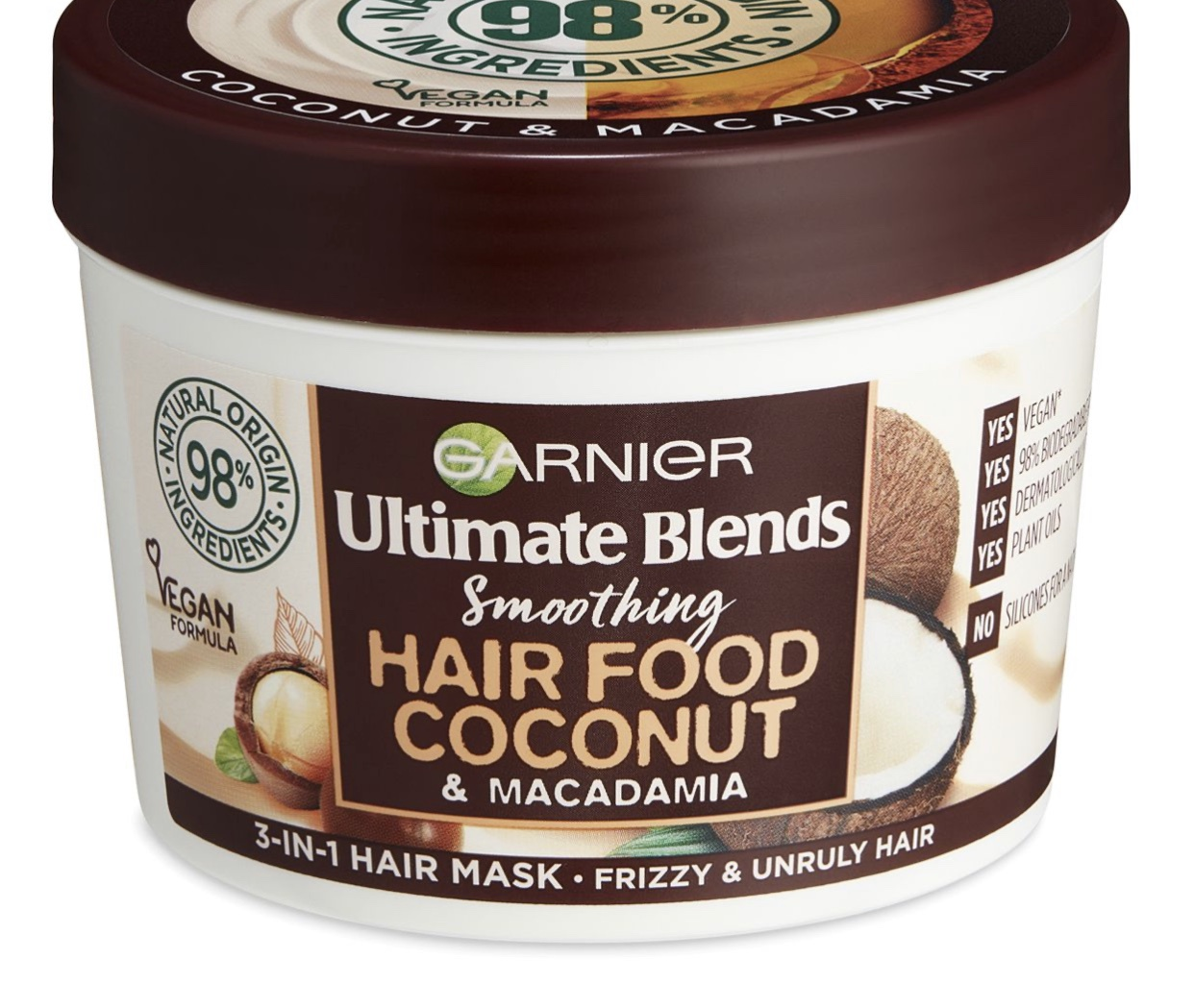 Garnier ultimate blends Hair Food Coconut & Macadamia Hair Mask