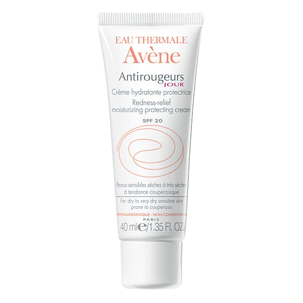 Avene Antirougeurs Jour Redness Relief Moisturizing Protecting Cream Spf20