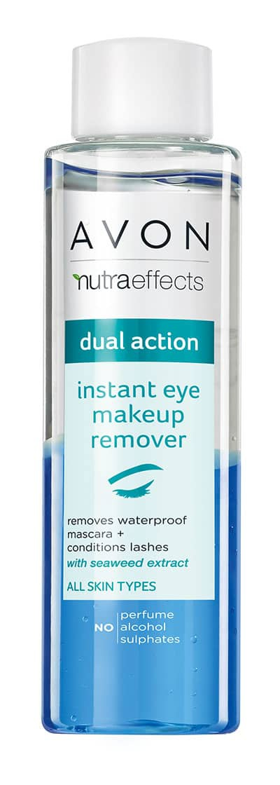 Avon Nutra Effects Dual Action Inatant Eye Makeup Remover