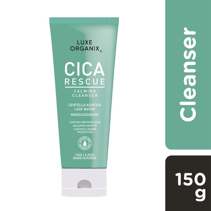 Luxe Organix Cica Rescue Calming Cleanser