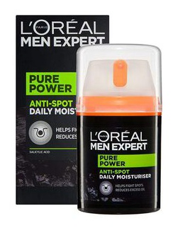 L'Oreal Pure Power Anti Spot Daily Moisturiser
