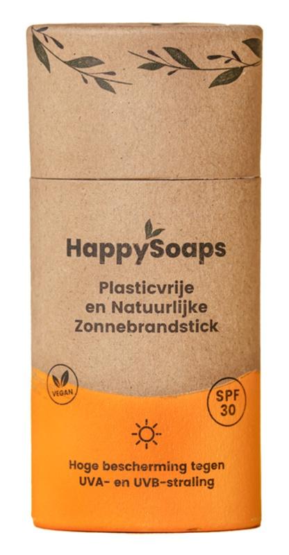 Happysoaps Plasticvrije En Natuurlijke Zonnebrandstick