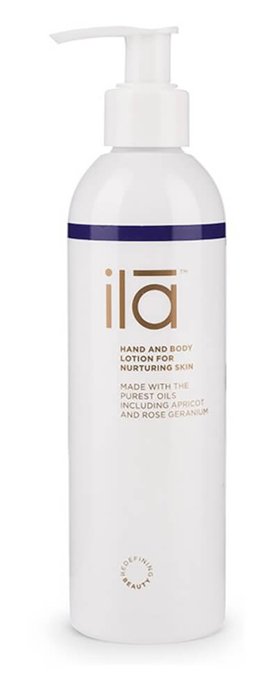 ila-spa Hand and Body Lotion for Nurturing Skin