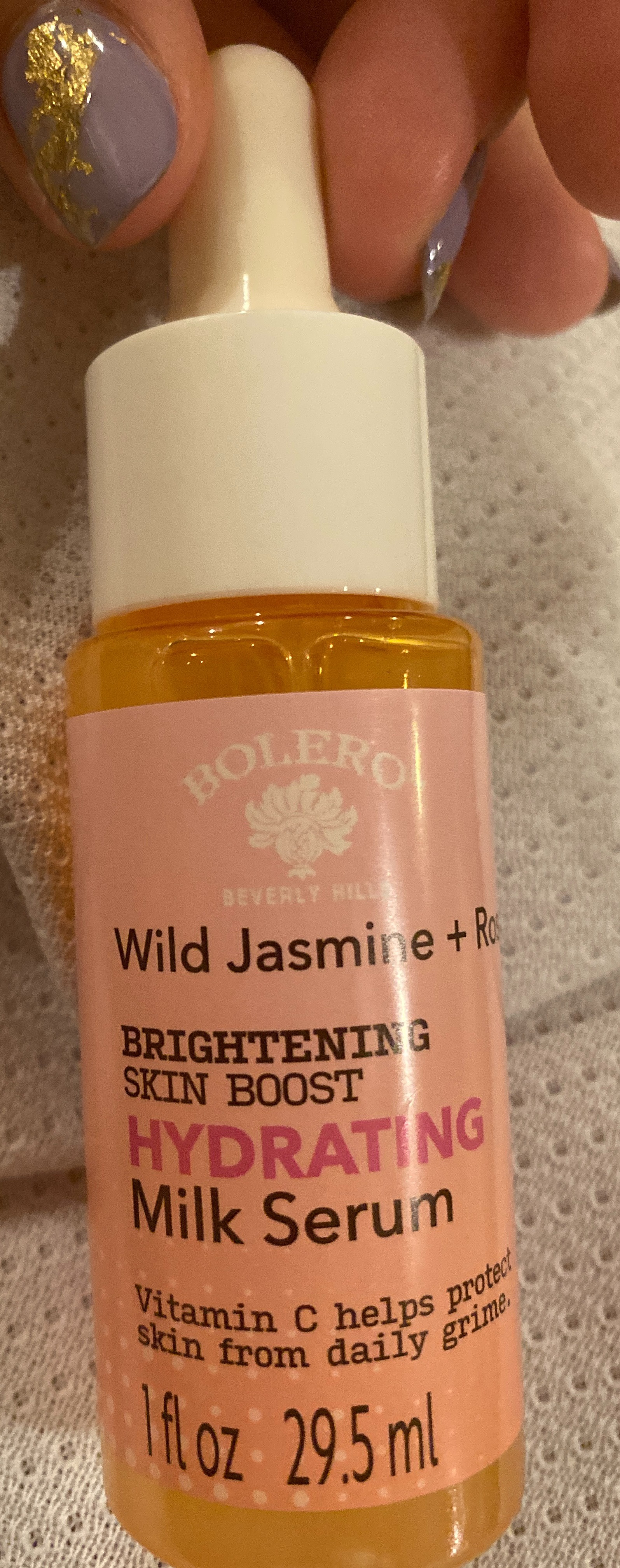 Bolero Beverly Hills Wild Jasmine And Rose Brightening Skin Boost Hydrating Milk Serum