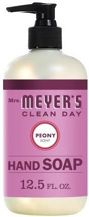 Mrs. Meyer's Peony Liquid Hand Soap