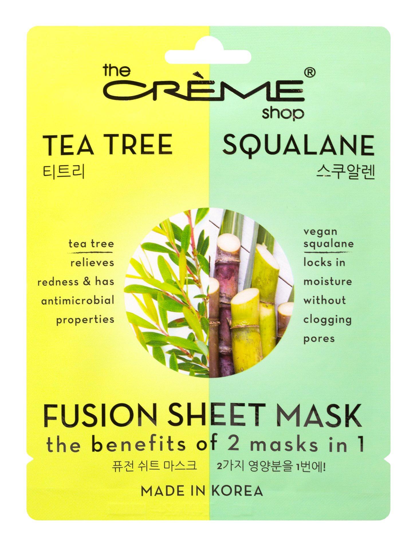 The Creme Shop Tea Tree & Squalane Fusion Sheet Mask