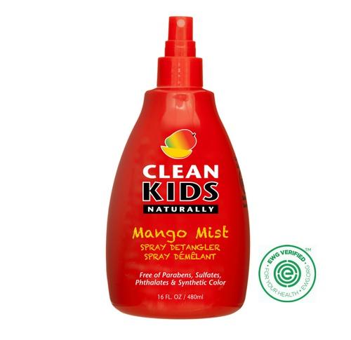 Clean Kids Naturally Mango Mist Spray Detangler