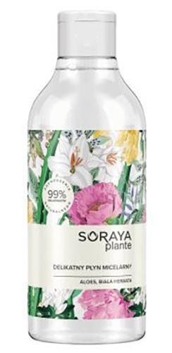 Soraya Plante, Delikatny Płyn Micelarny, Aloes, Biała Herbata