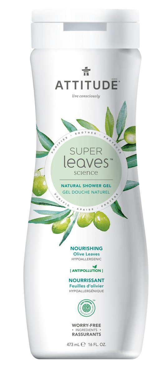 Attitude Nourishing Olive Leaves Shower Gel