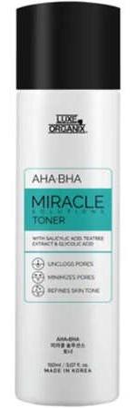 Luxe Organix AHA-BHA Miracle Toner