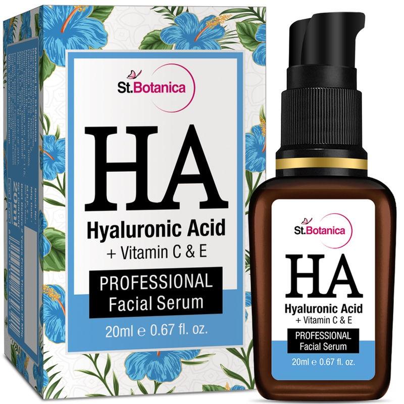 St. Botanica Hyaluronic Acid + Vitamin C & E Face Serum