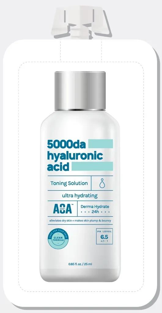 AOA Skin 5000Da Hyaluronic Acid Toner