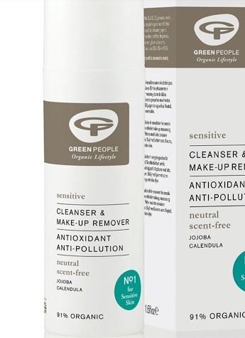 Green People Scent Free Make-Up Remover& Cleanse