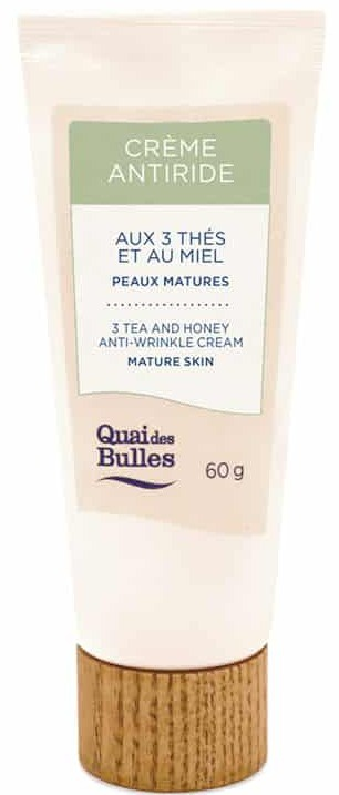 Quai des bulles 3 Tea And Honey Anti-wrinkle Cream
