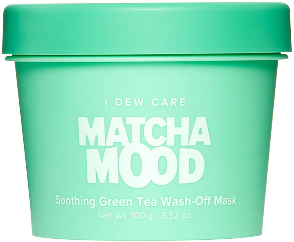 I Dew Care Matcha Mood Soothing Green Tea Wash-Off Mask