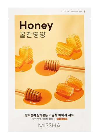 Missha Airy Fit Sheet Mask (Honey)
