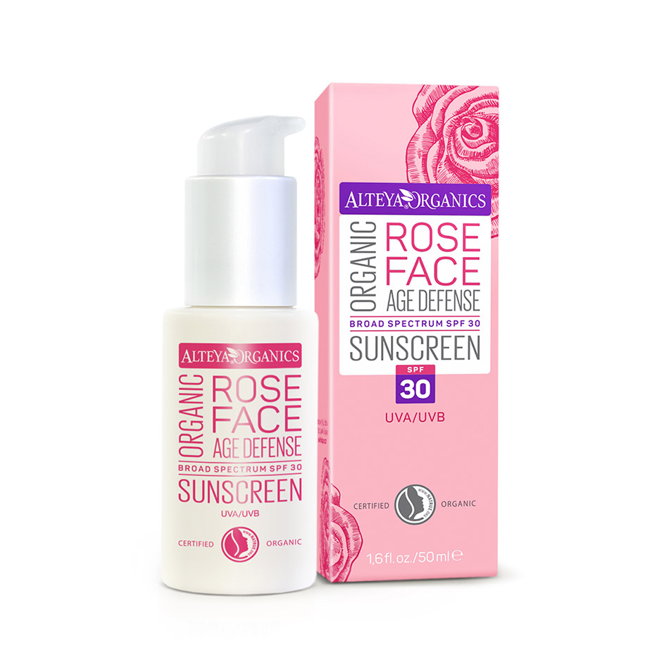 alteya organic Organic Rose Face Spf 30 Sunscreen