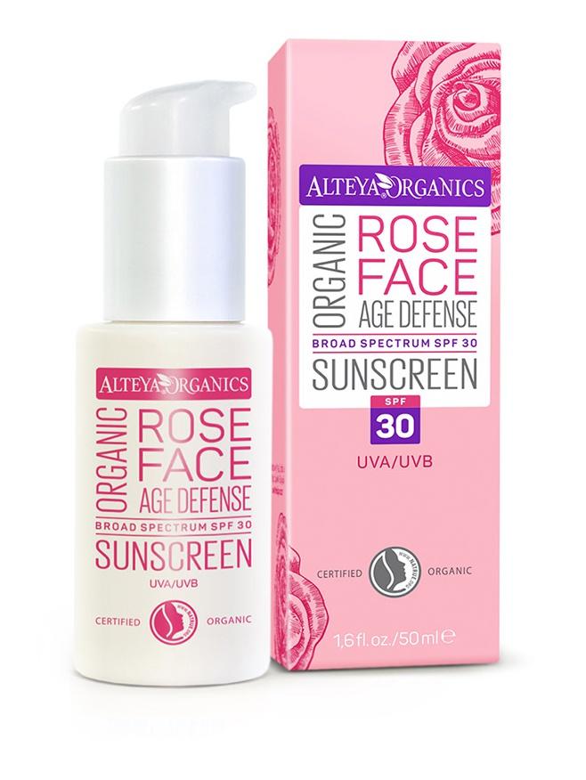 alteya organic Organic Rose Face Spf 30 Sunscreen