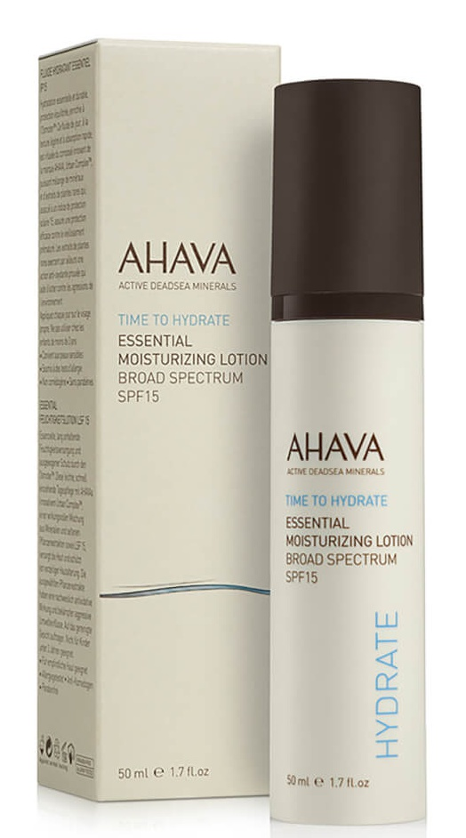 Ahava Time To Hydrate Essential Moisturizing Lotion Broad Spectrum SPF15