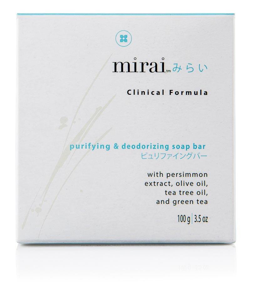 Mirai Clinical Purifying And Deodorizing Soap Bar