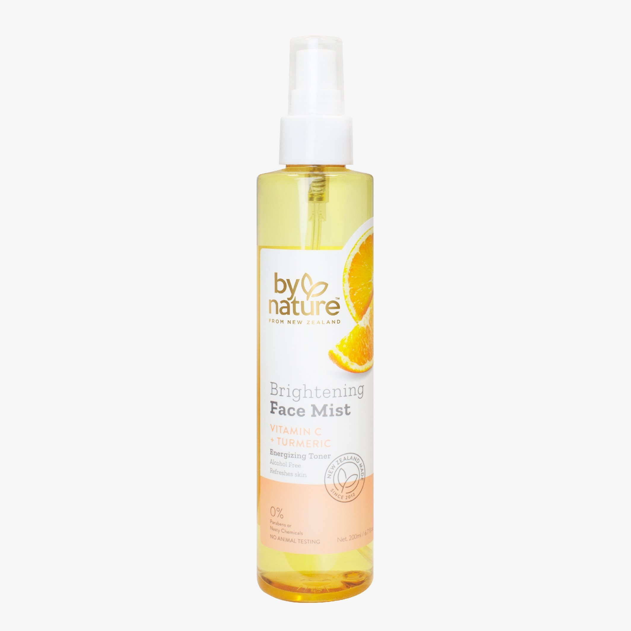 By Nature Brightening Face Mist With Vitamin C + Turmeric