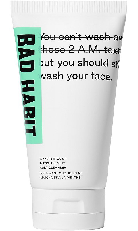 Bad Habit Wake Things Up Matcha & Mint Daily Cleanser