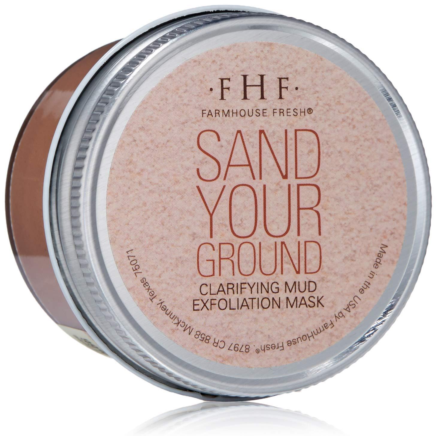 FarmHouse Fresh Sand Your Ground® Clarifying Mud Exfoliation Mask
