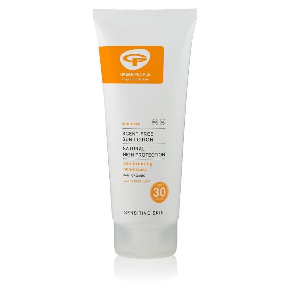 Green People Scent Free Sun Lotion Spf30