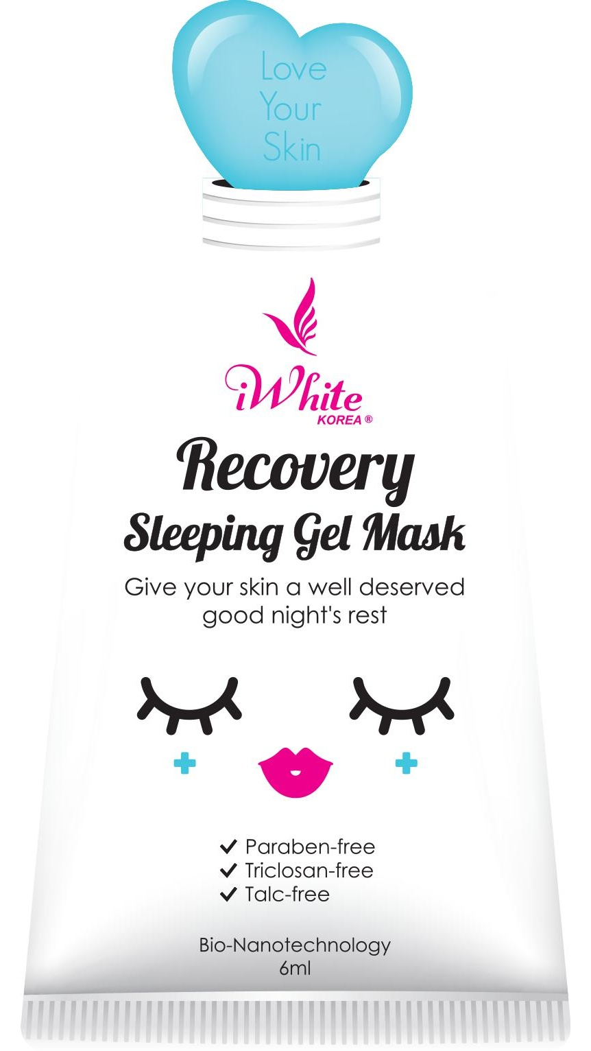 iWhite Korea Recovery Sleeping Gel Mask