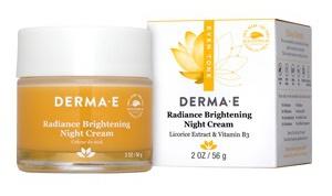 Derma E Derma Radiance Brightening Night Vitamin C Cream