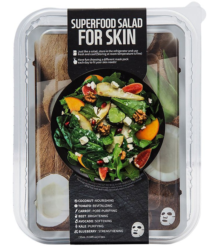 Innerest Superfood Salad Beauty Facial Mask