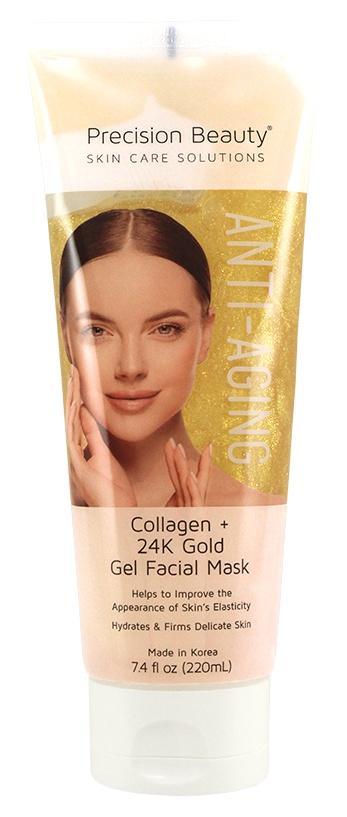 Precision Beauty Collagen + 24K Gold Gel Facial Mask