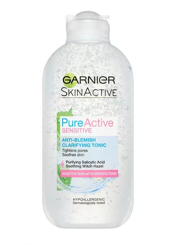 Garnier Pure Active Sensitive Anti-Blemish Clarifying Toner