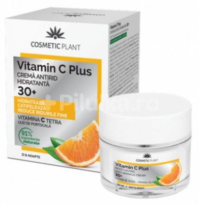 Cosmetic Plant Cremă antirid hidratantă 30+ Vitamin C Plus