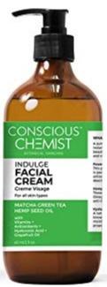 Conscious Chemist Matcha+Hemp Indulge Facial Cream
