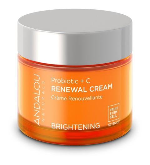 Andalou Naturals Brightening Renewal Cream Probiotic + C