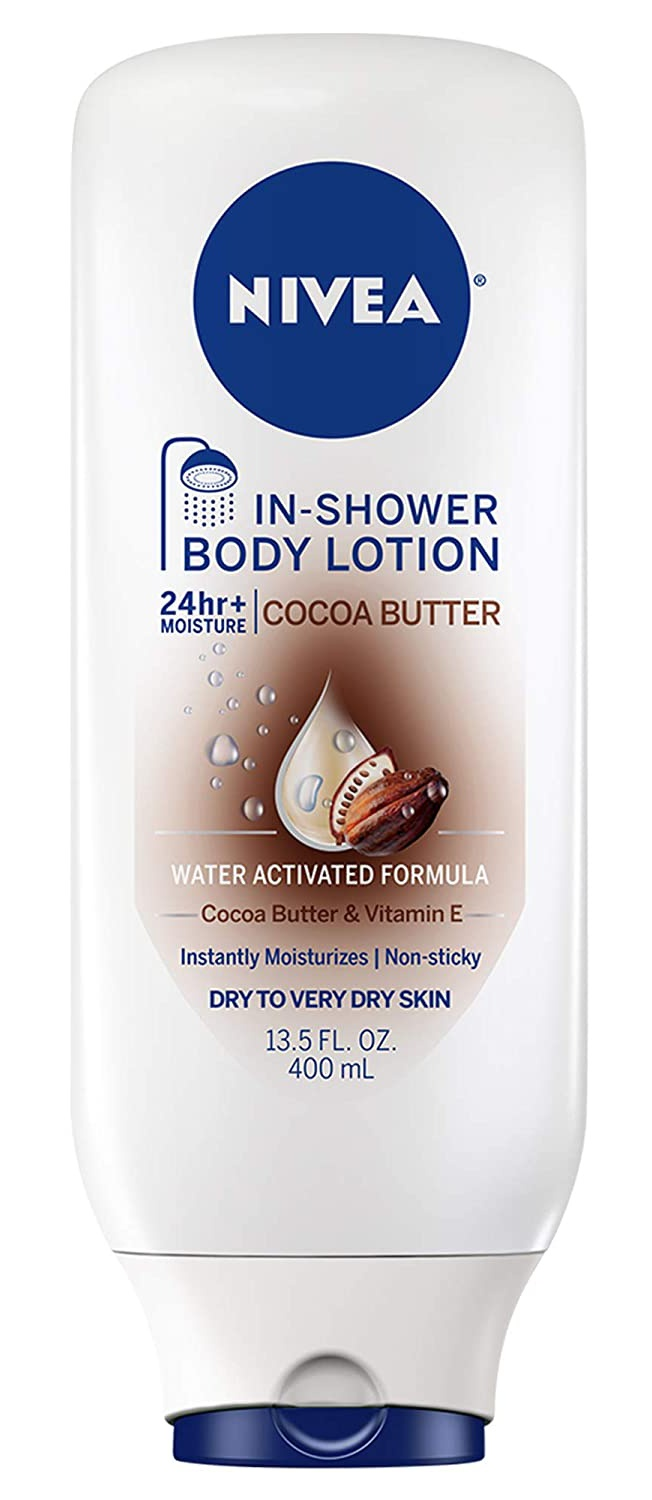 Nivea Cocoa Butter In-Shower Body Lotion