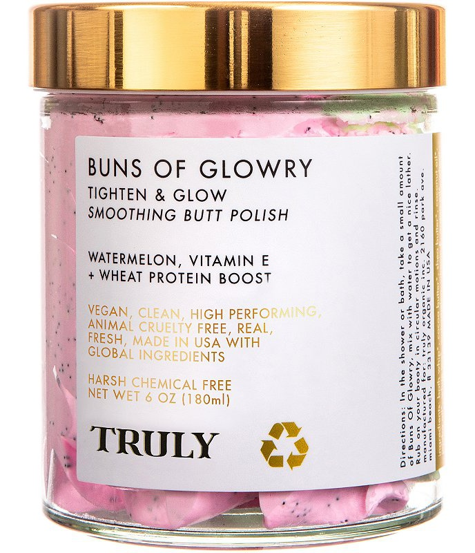 Truly Buns Of Glowry Tightening & Glowing Smoothing Butt Polish