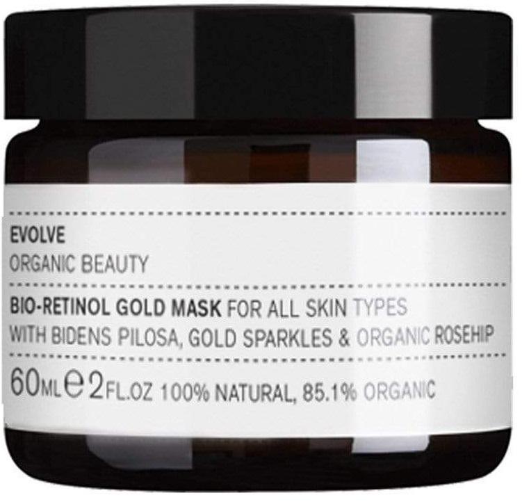 Evolve Organic Beauty Bio-Retinol Gold Mask