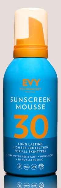Evy Sunscreen Mousse Spf30