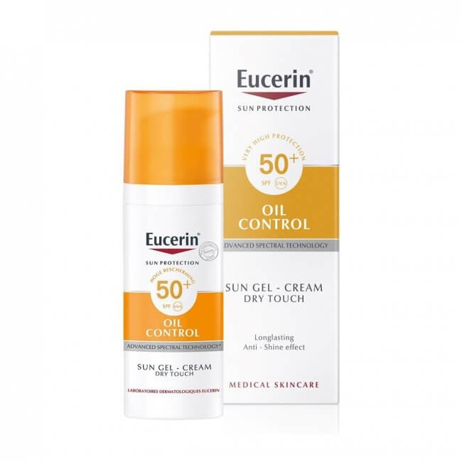 Eucerin Oil Control Sun Gel-Cream Dry Touch Spf50+