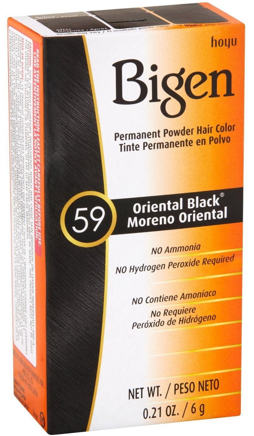 Bigen Permanent Hair Color  Oriental Black